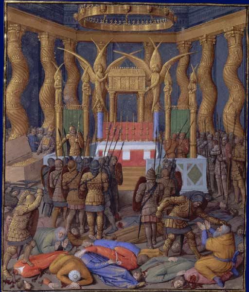 על רומאים וחשמונאים