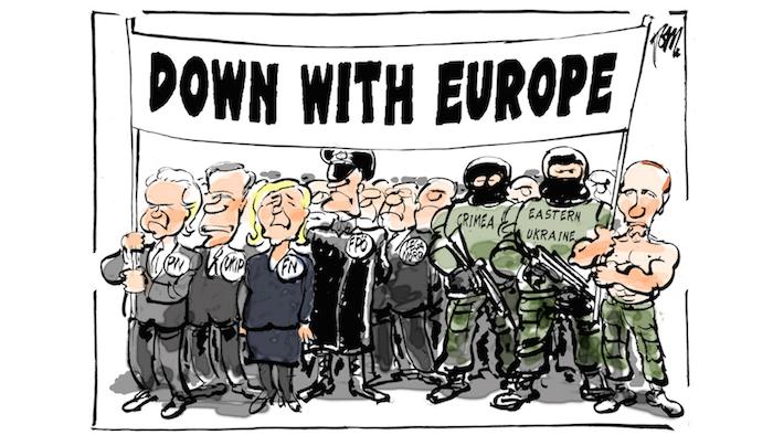 גם פוטין רוצה איחוד אירופאישלם
