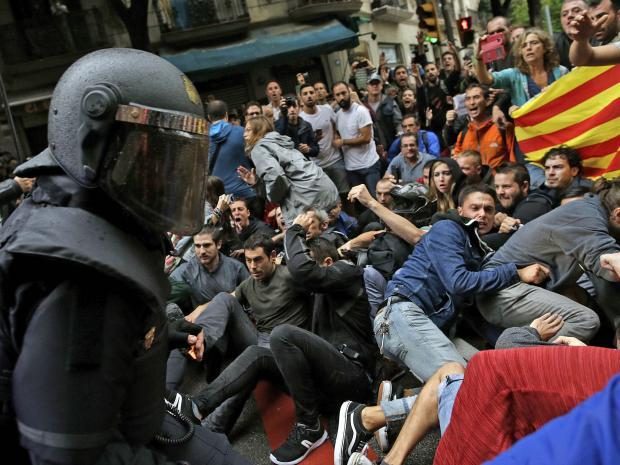 משבר קטלוניה: סערה בכוסתה
